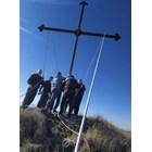 8-метров кръст издигнаха в Цалапица, да ги пази от беди (снимки)
