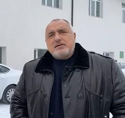 Премиерът Бойко Борисов на инспекция в Разлог КАДЪР: Фейсбук