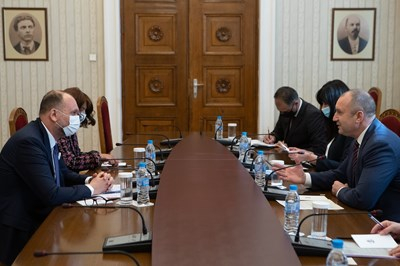 Снимка прессекретариат на президента