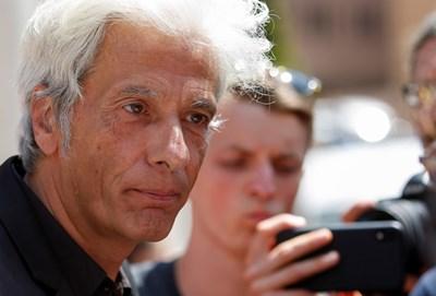Пиетро Орланди - братът на изчезналата преди 36 години Емануела Орланди СНИМКА: Ройтерс