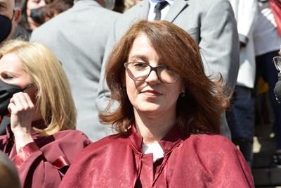 Валентина Маджарова досега беше временен шеф на спецпрокуратурата.  СНИМКА: ЙОРДАН СИМЕОНОВ
