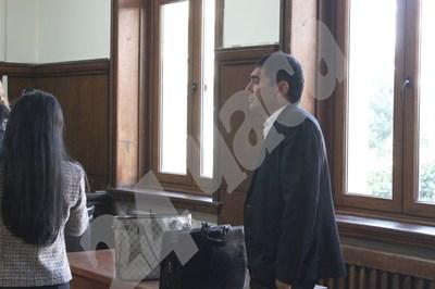 Лазар Влайков в съдебната зала СНИМКА: 24 часа