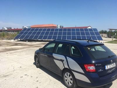 """През 2020 година """"Енерго-Про Енергийни услуги"""" отбеляза двоен ръст при строежа на фотоволтаични централи спрямо 2019 година."""