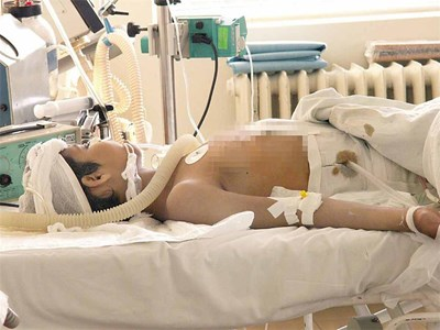 През 2006 г. лекарите се бориха 5 дни за живота на Анета,но не успяха да я спасят. СНИМКА: Стоян Николов