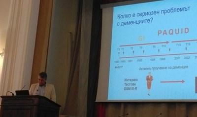 Акад. Трайков обяснява ролята на тестовете за диагнозата.
