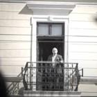Балконът на дома на Вазов, от който той е приема поздрави