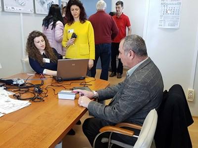Служители на голяма фирма в  Хасково  вече се възползваха от посещението на служителите на МВР в офиса им.