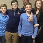 16-годишният Ландън Дахам закла двамата си по-малки братя и майка си в САЩ.
