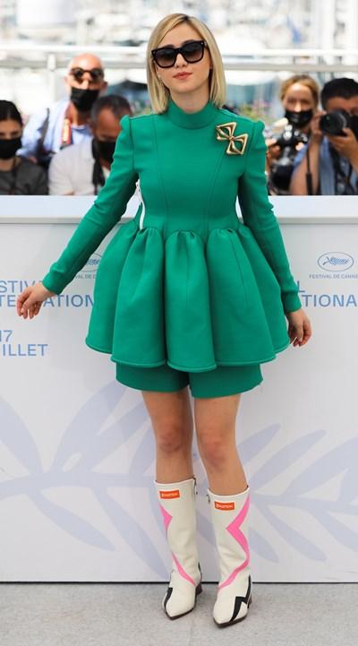 """Мария Бакалова в Кан на световната премиера на филма """"Жените наистина плачат"""" Снимки: Ройтерс"""