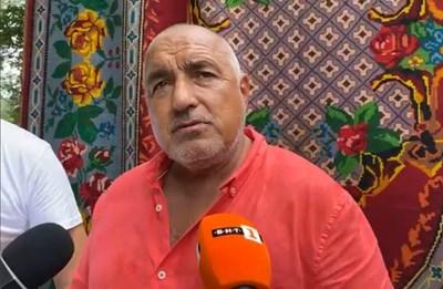 Борисов посети Фестивала на етносите и багрите в Котел. Снимка ГЕРБ