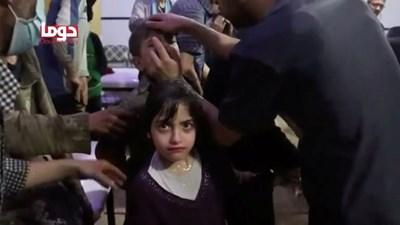 Вече от дни е ясно, че ще има наказателни удари, след като сирийските сили използваха отровен газ срещу собственото си население в Дума. Снимка РОЙТЕРС