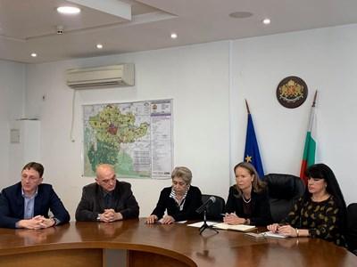 Медицинският щаб в Пловдив начело с Дани Каназирева.