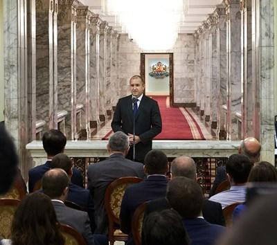 Румен Радев СНИМКА: Прессекретариат на президента