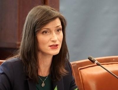 Българският еврокомисар Мария Габриел
