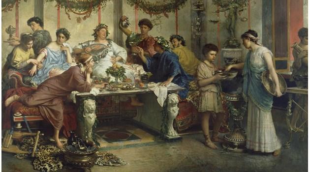 Помпей: лавата на Везувий засне пира на богопомазаните