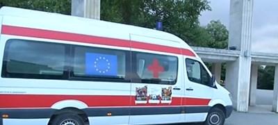 Мобилния ваксинационен пункт във Варна Кадър: Нова тв