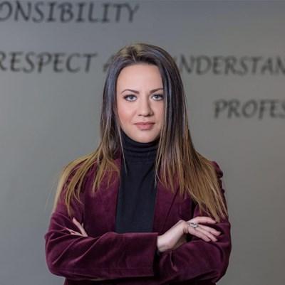 Лилия Димитрова, изпълнителен директор на Frontex International