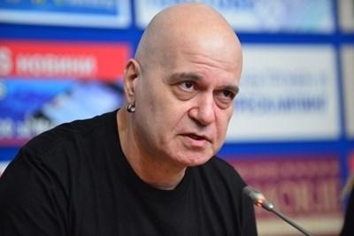"""Лидерът на партия """"Има такъв народ"""" Слави Трифонов"""