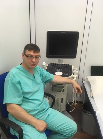 Съдовият хирург д-р Ангел Григоров