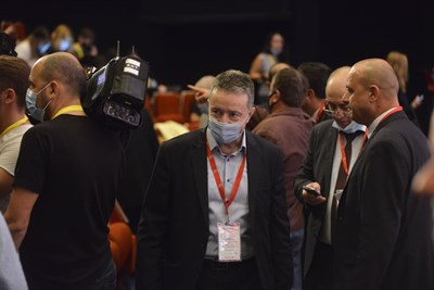 Янаки Стоилов по време на заседанието на конгреса.
