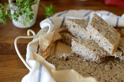 Суперздравословен хляб без месене за 5 минути