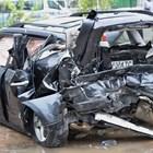 От автомобила на Милен Цветков се носела миризма на газ.