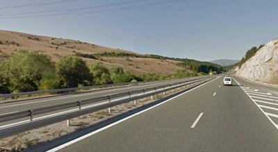 Пътят Враца - Жиленци СНИМКА: Google Street View