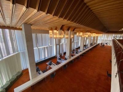 В просторното фоайе на театъра ще работи РИК във Враца на парламентарните избори.
