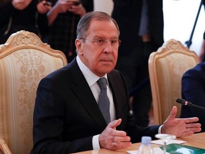 Министърът на външните работи на Русия Сергей Лавров СНИМКА: РОЙТЕРС