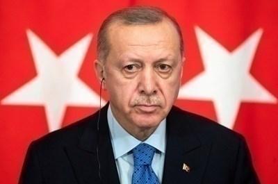 Президентът на Турция Реджеп Тайип Ердоган. Снимка Ройтерс