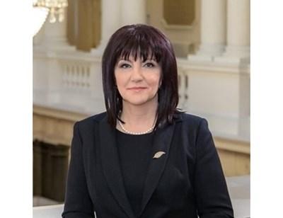 Председателката на НС - Цвета Караянчева