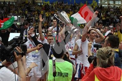 """Радостин Стойчев призна, че победата над """"Пиаченца"""" е била най-сладката откакто е в """"Тренто"""". СНИМКА: 24 часа"""