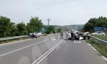 """Тежка катастрофа на пътя за ГКПП """"Маказа"""",  шестима са пострадали"""