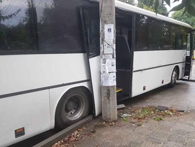 Катастрофиралият автобус