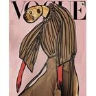 Една от кориците с рисунка на итало-американката Ванеса Бийкрофт СНИМКИ: ИНСТАГРАМ