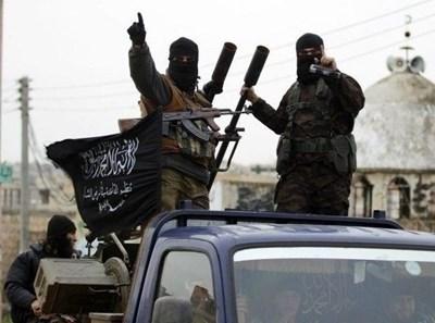 """Боици от """"Ислямска държава"""" СНИМКА: Ройтерс"""