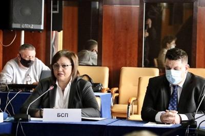 Днес е първата от поредица срещи на БСП с извънпарламентарни организации, за съвместно следене на изборния процес. Снимка БСП