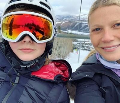 14-годишната  дъщеря на  актрисата  Гуинет Полтроу не харесва  да пуска общи  фотографии  с майка си  в инстаграм