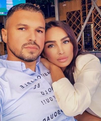 Валери Божинов и Биляна Дол Снимка: Инстаграм