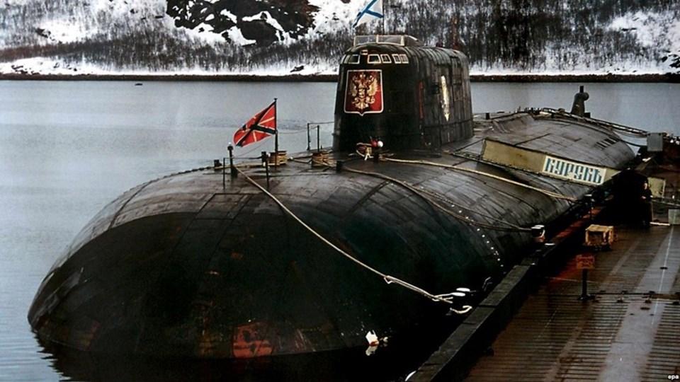 "Резултат с изображение за Руската атомна подводница ""Курск"""
