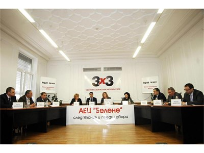"""Експерти и политици участваха в дебата на """"24 часа"""" и """"Труд"""" за АЕЦ """"Белене"""".На малката снимка- площадката на бъдещата централа.  СНИМКИ: ЙОРДАН СИМЕОНОВ"""