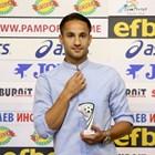 Цонев бе избран за играч на кръга