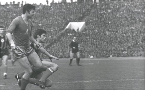 Гунди по време на мача срещу