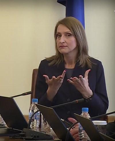 Жестомимичният преводач Таня Димитрова