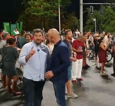Христо Иванов и Димитър Ламбовски  Кадър: Фейсбук