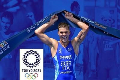 Делян Димко Статеф представя Италия в триатлона на олимпиадата СНИМКА: Инстаграм