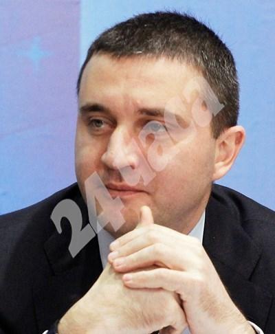 министърът на финансите Владислав Горанов СНИМКА: 24 часа
