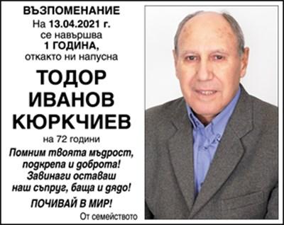 Тодор Кюркчиев