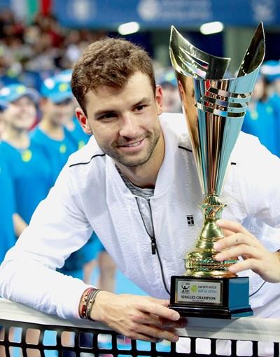 Григор спечели турнира в София през 2017 г., но не дойде да защитава титлата си. СНИМКА: Десислава Кулелиева