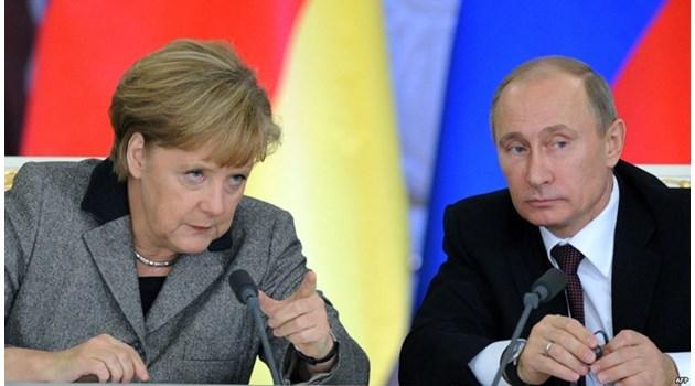 Путин: Доставките на газ за ЕС са застрашени